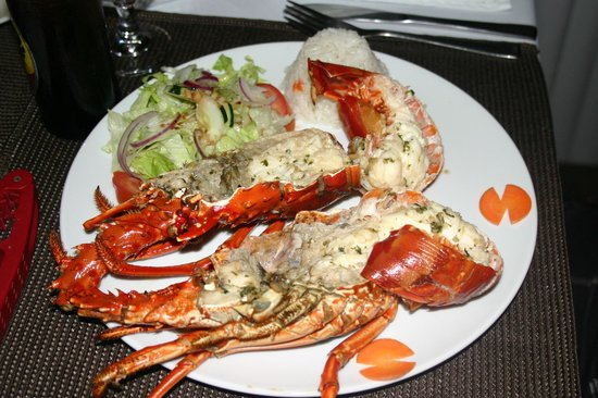 Namuwoki Lodge: Lobster Diner