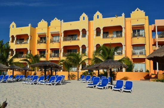 The Royal Haciendas, All Inclusive, All Suites Resort:                   units facing the beach