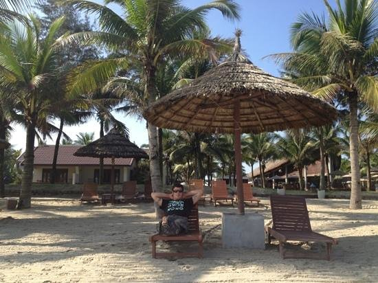 Palm Garden Beach Resort & Spa:                   beach huts