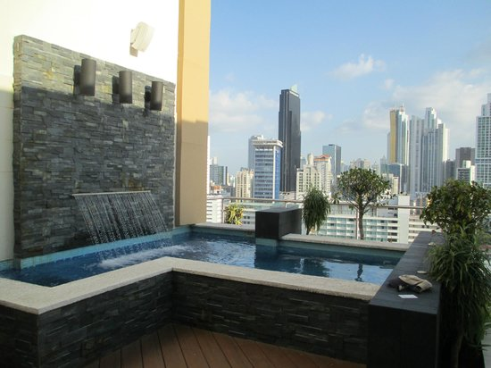 Hilton Garden Inn Panama: Rooftop spa