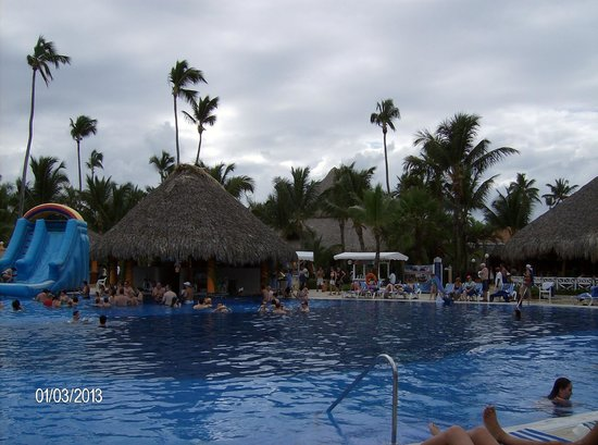 Grand Bahia Principe Punta Cana:                                     Poolside