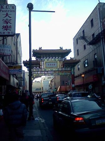 Free Tours by Foot:                   Friendship Gate in Chinatown