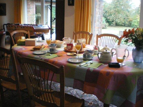 A la Maison du Heron : colazione è dire poco....mmmmm