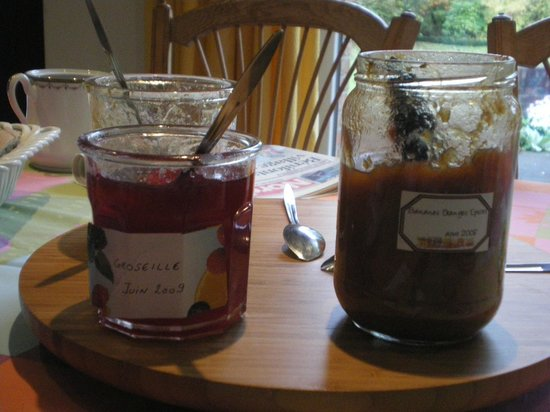 A la Maison du Heron : marmellate fatte in casa da Madame