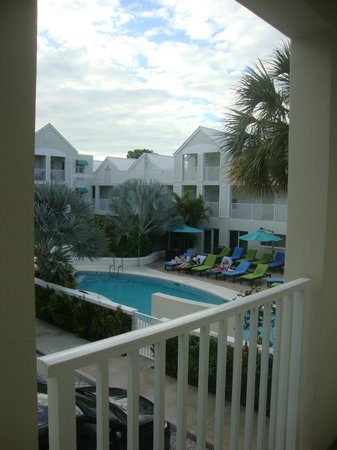 Silver Palms Inn:                   view from our rom