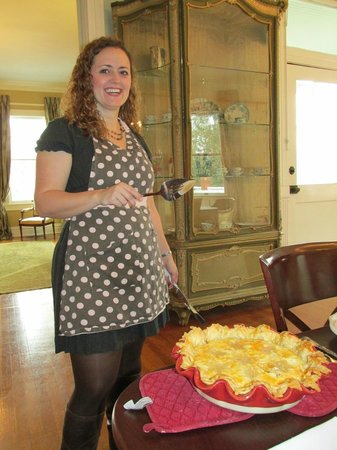 The Twelve Oaks Bed & Breakfast:                   Owner & Chief Pamperer Nicole Greer