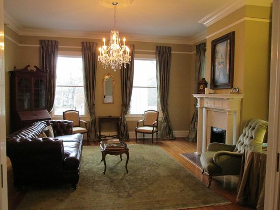 The Twelve Oaks Bed & Breakfast:                   Sitting Room - Front Room