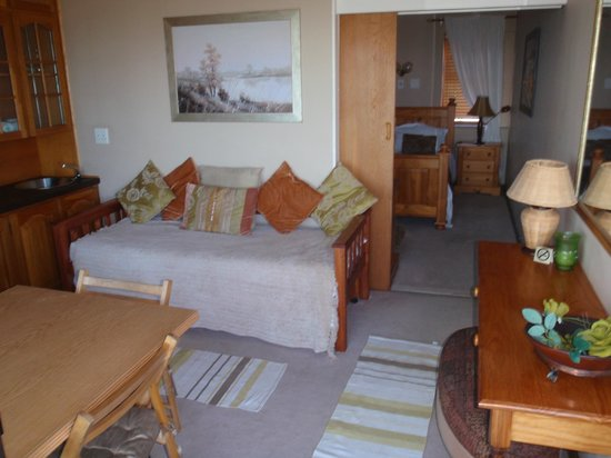 Wilderness Beach Lodge:                   One of the 2 top floor smaller rooms