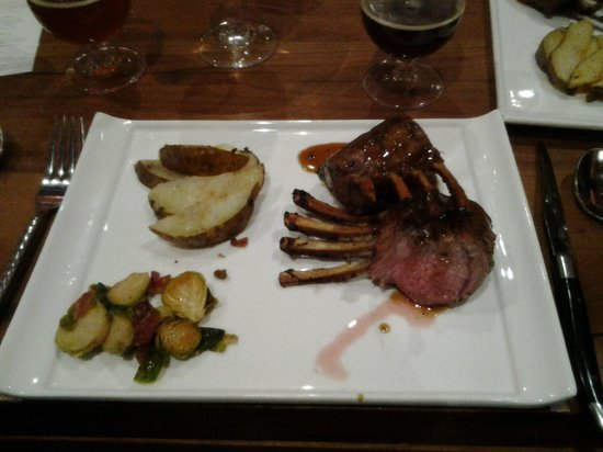 The Inn at Cooperstown :                   Lamb Crown Roast