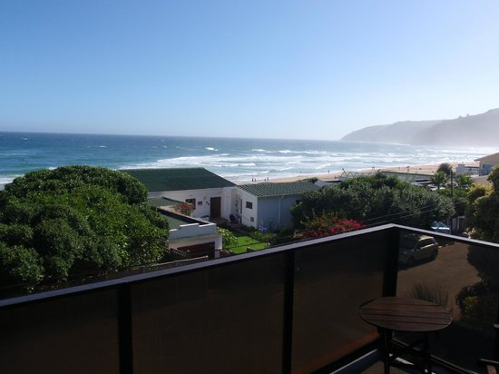 Wilderness Beach Lodge:                   View from room 6