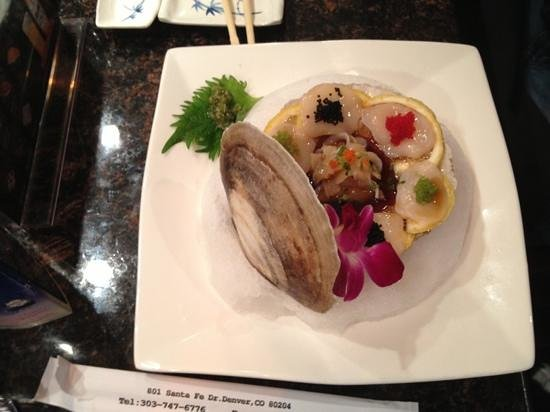 Live Scallop Picture Of Isushi Japanese Restaurant Denver