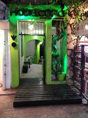 Hotel Copa : Hotel en Playa del Carmen:                   Entrance to hotel
