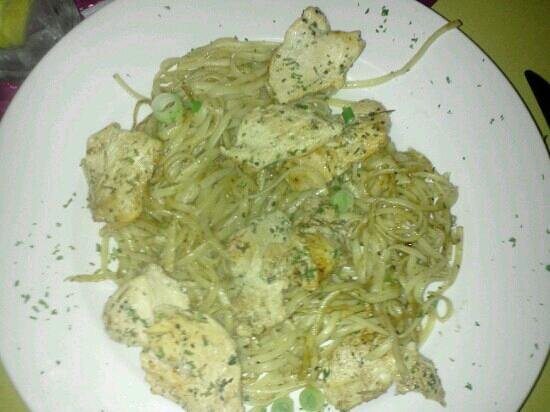 Italian Grill : Grilled linguini with chicken