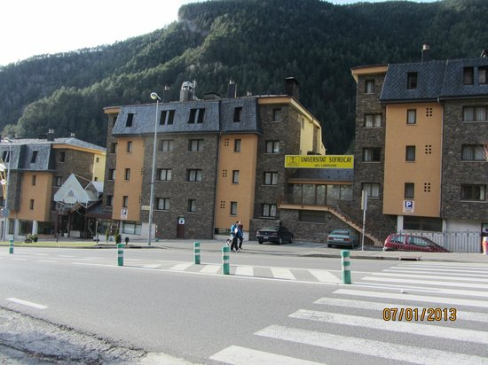 St Gothard Hotel:                   Hotel view