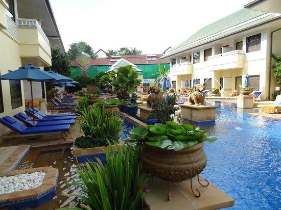 ฮอลิเดย์ อินน์ รีสอร์ท: Pool access villa