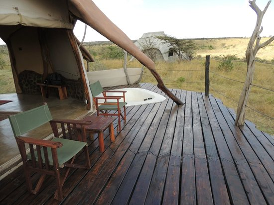 Amani Mara Camp:                   the perfect place to relax
