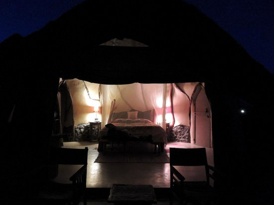 Amani Mara Camp:                   listening to the sounds of wildlife