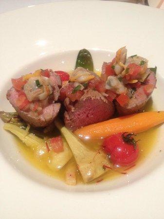 Domaine de la Tortiniere: メイン鮮やかで美味しい!!