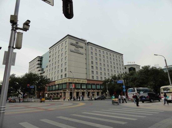 Crowne Plaza Beijing Wangfujing: Frente del hotel