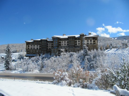 Viceroy Snowmass:                   View of Resort