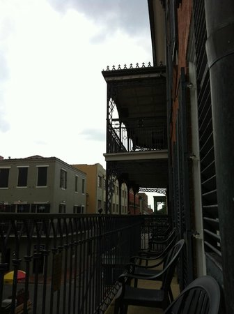Royal Sonesta New Orleans: balcony