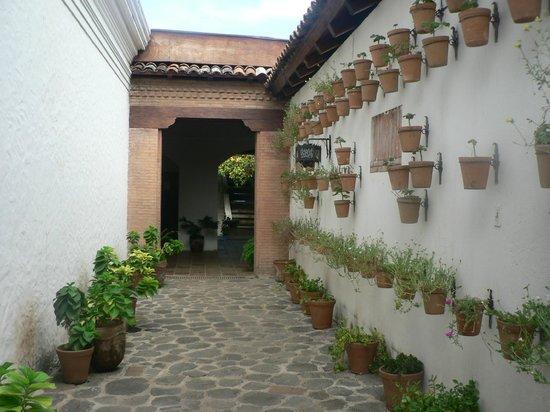 Hotel Granada: pasillo a las suites