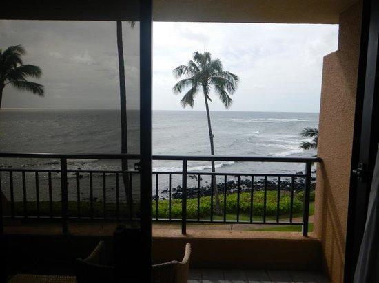 Sheraton Kauai Resort: View from our room