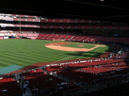 Hilton St. Louis at the Ballpark:                   cardinal game