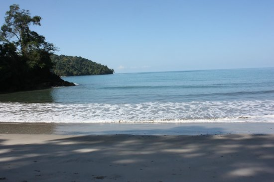 Tulemar Resort:                   Private Beach