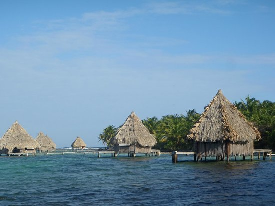 Glover's Atoll Resort: cabane sur pilotis