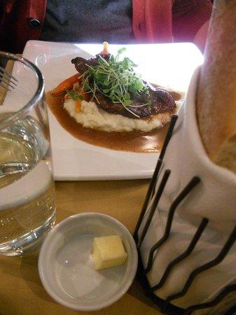 Cafe Le Hobbit : Bavette boeuf, sauce aux épices