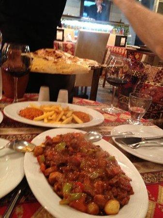 Vuslat Grill & Restaurant :                   clay pot dinner for 2