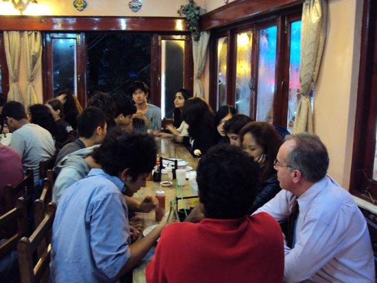Amitash: Woodstock advisor grp dinner