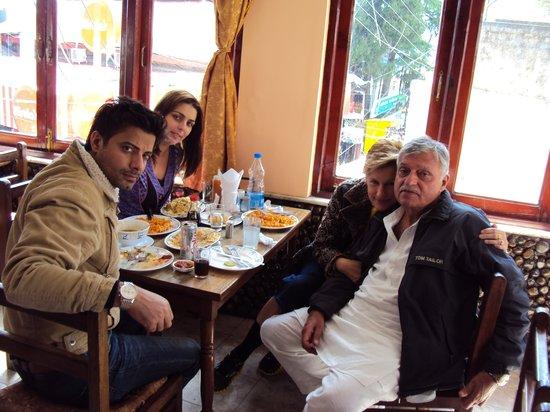 Amitash: Captain satish sharma & fam'