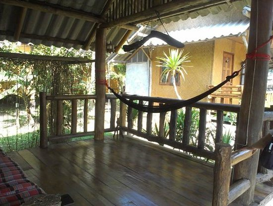 Chiang Dao Hut: 1-BR bangalow: terrace