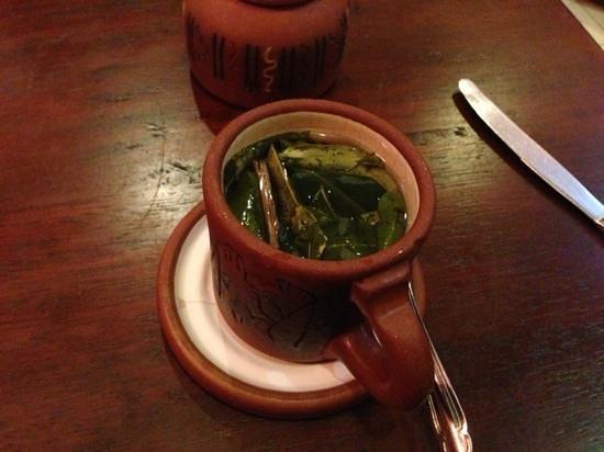 Ama Lur:                   coca tea