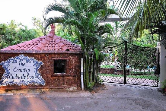 The Country Club De Goa Resort: Main Entrance