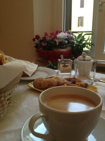 Domus Quiritum B&B: Café recién hecho como en casa