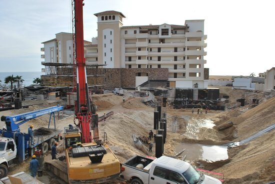 Grand Solmar Land's End Resort & Spa:                   Construction update