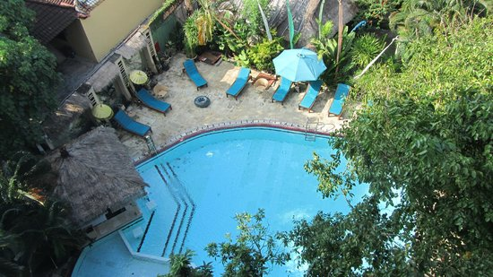 Bali Mystique Hotel and Apartments:                   Pool view from Balcony