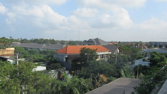 Bali Mystique Hotel and Apartments:                   View from Balcony