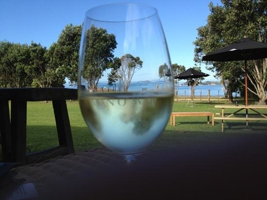 Man O' War Vineyards:                   tasting and relaxing!