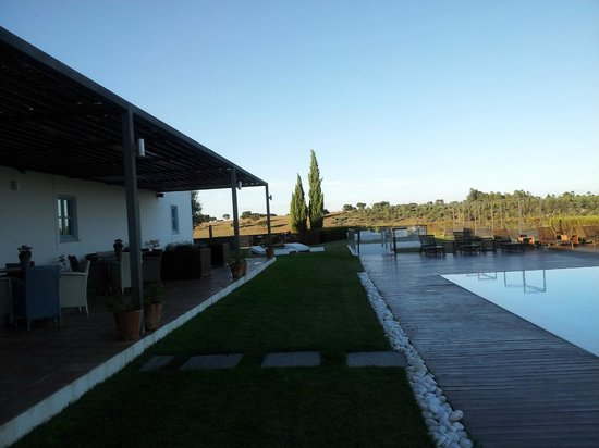 Herdade da Malhadinha Nova - Country House & Spa:                   Pool and deck