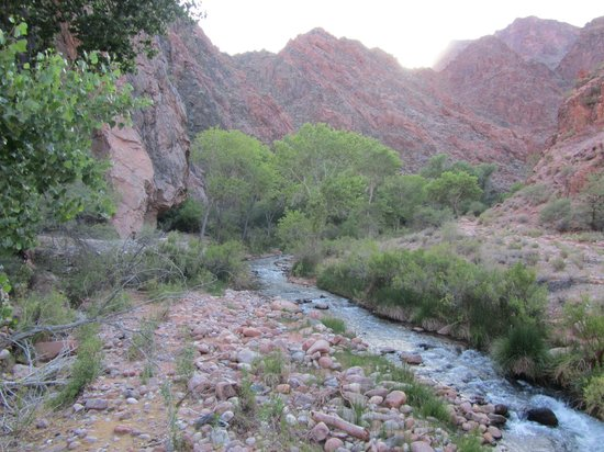 Phantom Ranch: the river