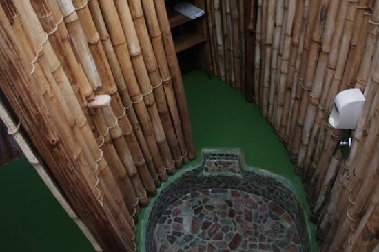 Danta Corcovado Lodge : Dusche