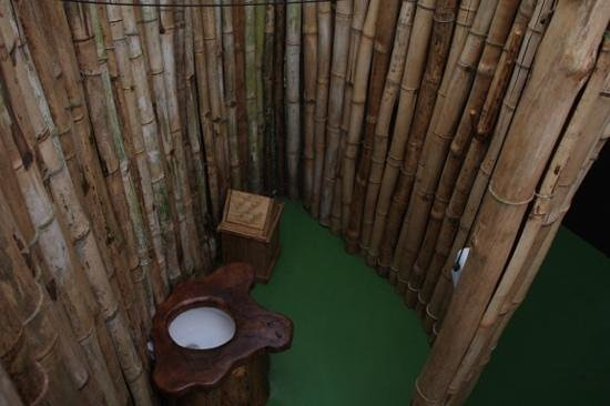 Danta Corcovado Lodge: Toilette