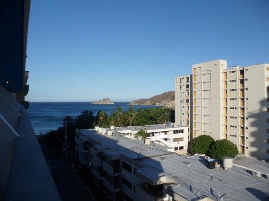 Hotel Betoma: Vista desde la habitación del 6° piso