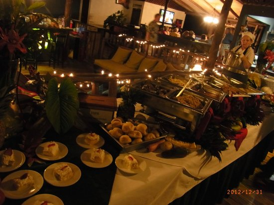 Chachagua Rainforest Eco Lodge:                   dinner buffet
