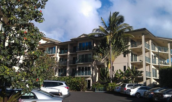 Waipouli Beach Resort:                   G403 is the top floor balcony