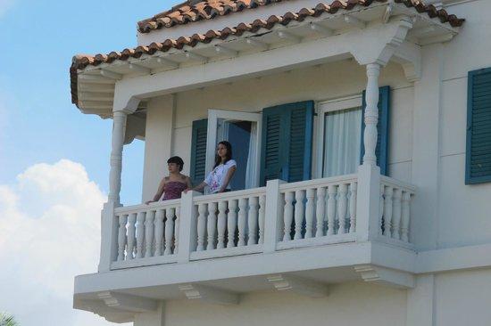 Bovedas de Santa Clara Hotel Boutique: habitacion balcon